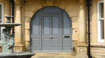 Hardwood french doors Cheshire